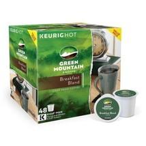 GREEN MOUNTAIN  BREAKFAST BLEND 96 ct (48 K-CUP x 2 pk ) BRAND NEW IN RE... - $59.39