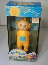 NEW NEVER USED Teletubbies NIB plastic Laa-Laa doll by Playskool, 1998 AGES 1.5+ - $19.79