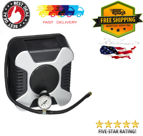 120-Volt Inflator, Portable Air Pressure Pump For Bike, Bicycle, Car Tire, Balls for sale  USA