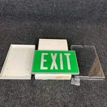 Isolite 880-12-6 Green Aluminum Frame Single Side Exit Sign - $182.33