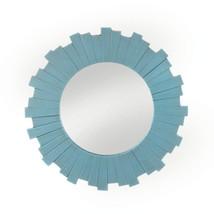 Blue Sunburst Decorative Wall Mirror - $53.95