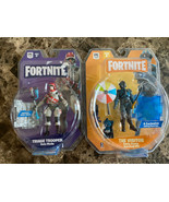 Fortnite Early Game Survival Kit 9 Pc Figure Pack Visitor And Triage Tro... - $20.78