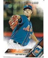Baseball Card- Steven Matz 2016 Topps #551 - $1.00