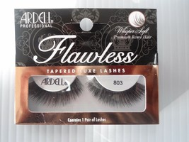 Ardell Striplashes Flawless Style 803 Black Tapered Luxe Lashes (Pack of 4) - $12.98