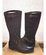 UGG THOMSEN STOUT WATER AND SNOW RESISTANT LEATHER BOOTS US 6 / EU 37 / ... - $139.32