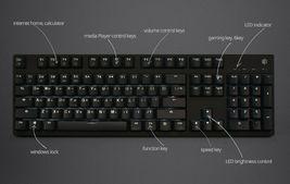 Thinkway C704 Mechanical Gaming Keyboard English Korean Wired (Cherry MX Blue) image 8