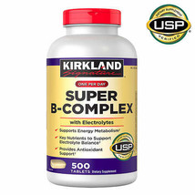 Kirkland Signature Super B-Complex with Electrolytes, 500 Tablets - $18.99
