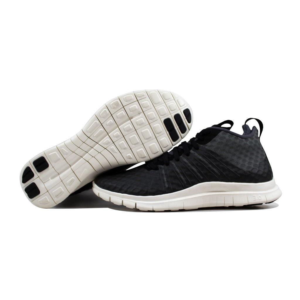 separation shoes 637d1 c7de9 Nike Free Hypervenom 2 FS Black Dark Grey-Ivory 805890-001 Men s SZ 9