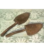 Pair Vintage 40s All Wood Shoe Trees Cobbler's ... - $16.50