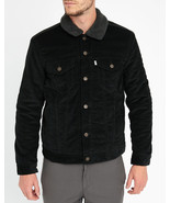 Levi's Men's Sherpa Trucker Jacket BLACK CORDUROY - $60.00
