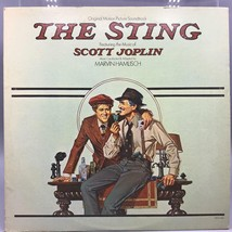 Clásico The Sting Soundtrack Record Album Vinilo LP - $29.43