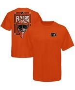 Philadelphia Flyers United Front Goalie Mask T-Shirt sz Youth Medium 10/12 - $5.89