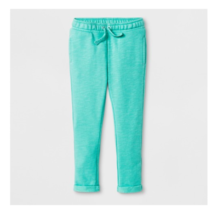 Cat & Jack Toddler Girls Jogger Pants Teal Size 2T NWT - $7.69