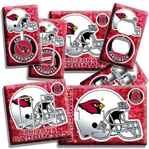 Arizona Cardinals Football Team Light Switch Outlet Plate Cover Room Home Decor - $9.99+