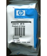 New in Package - Genuine HP #75 Color Ink Cartridge CB337W - $4.94