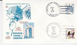 PIONEER-VENUS 1 ORBITER DOUBLE CANCEL MOFFETT FIELD & CAPE CANAVERAL 1978 - $1.98