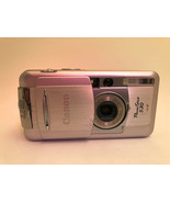 Canon PowerShot S30 3.2MP Digital Camera - Silver for Parts - $7.67