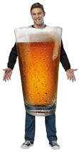 Beer Pint Costume Adult Alcohol Halloween Party Unique Cheap GC6803 - $44.99