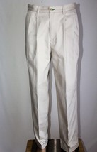 TOMMY HILFIGER Men's 32 x 32 (Actual 30 x 31)Khaki Pleated & Cuffed Pants Chinos - $28.05