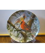 "Knowles China Collector Plate - ""The Cardinal"", Encyclopedia Britannica ... - $9.99"
