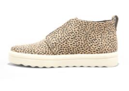 Universal Thread Women's Lilian Microsuede Leopard Print Slip on Sneakers NEW image 2
