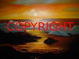 DIGITAL PHOTOGRAPH SEASCAPE JPEG SOLD BY THE ARTIST $9.99 OR BEST OFFER  - $4.99
