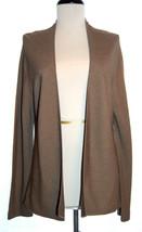 EILEEN FISHER 100% silk cardigan lightweight sweater brown Medium - $29.50
