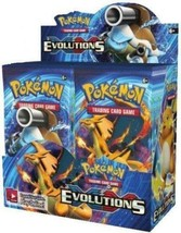 XY Evolutions 6 Booster Pack Lot 1/6 Booster Box POKEMON TCG Free Shipping - $27.99