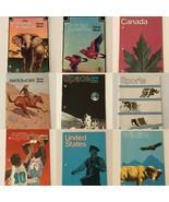 Stamp Album 1973 1974 Scott Publishing Mini Album Choice Space Sports An... - $7.99