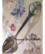 TOTEM POLE BC Souvenir Spoon STERLING SILVER - $14.99