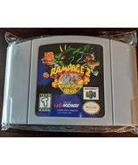 Rampage 2 Universal Tour N64 Custom English Nintendo 64 - $26.50