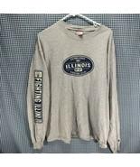 Champion Illinois Fighting Illini Long Sleeve T-Shirt Men's Size XL - $19.79
