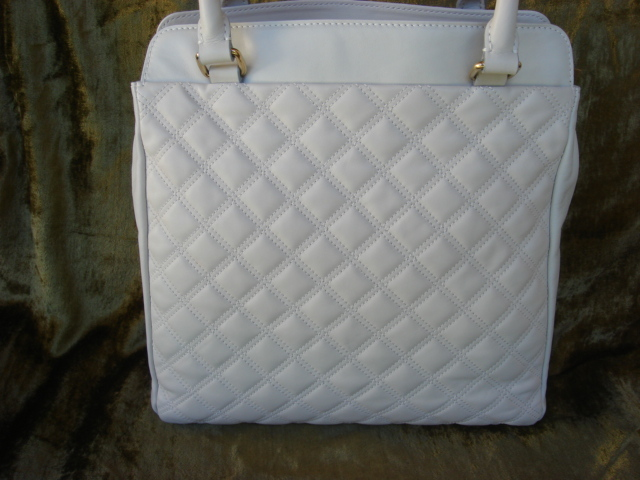 Marc Jacobs White Maiden Quilted Leather $1300++