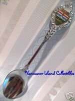 FOLDING MOUNTAIN Alberta Collector Souvenir Spoon