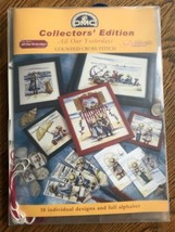 DMC Collectors Edition 18 Designs Counted Cross Stitch Picture Kits - $24.55