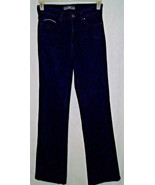 Levis Womens Size 8Long 28x34 Perfectly Slimming 512 Bootcut Black Stret... - $14.80