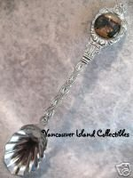 BANFF Alberta TOWN CENTER Collector Souvenir Spoon