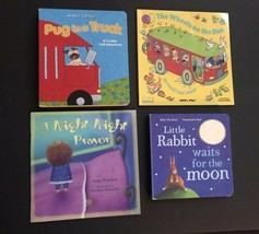 Preschool Book Lot 4 Pug in a Truck Goodnight Prayers Little Rabbit Wait... - $12.86