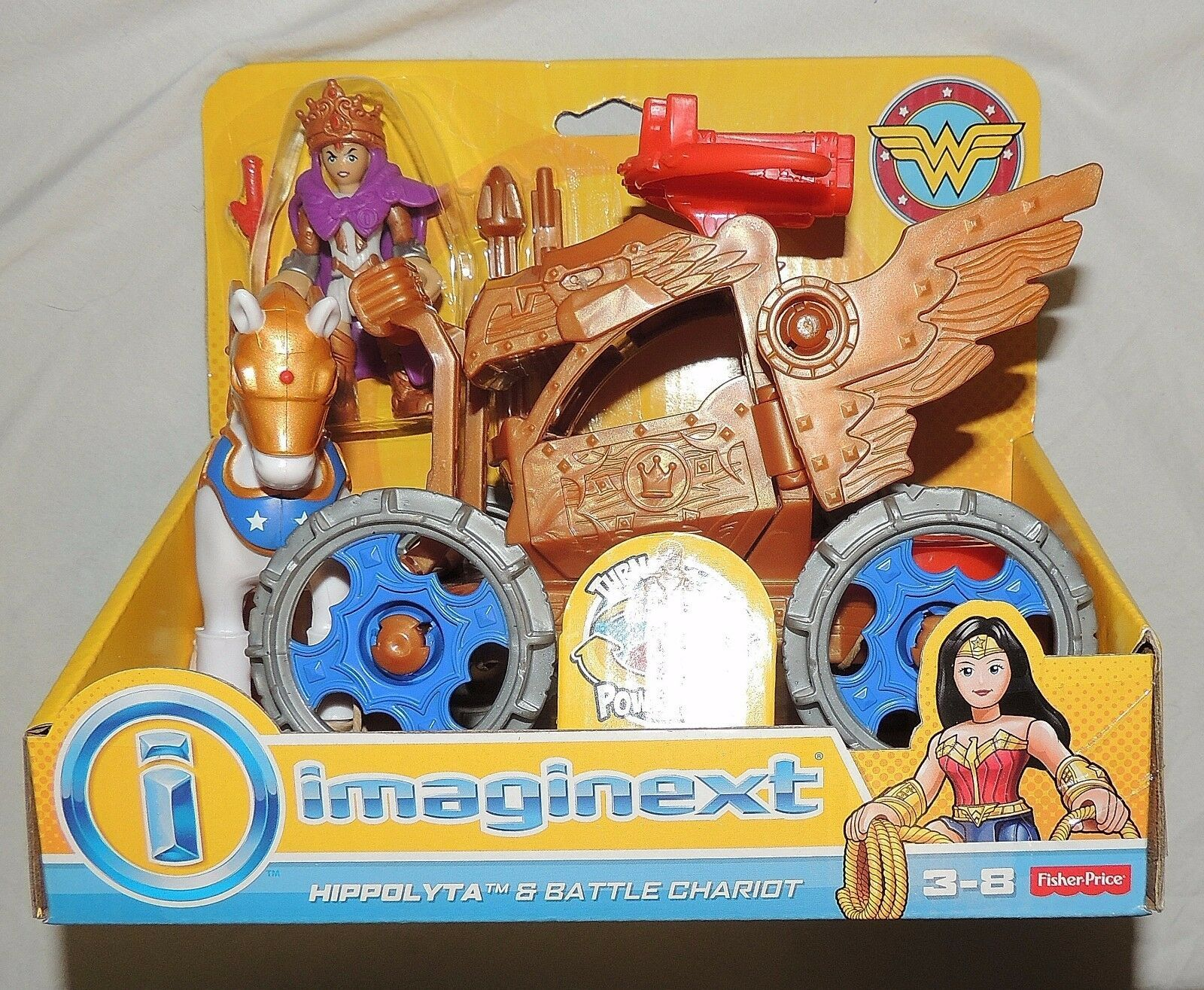 New Fisher Price Imaginext Wonder Woman Themyscira Island & Queen Hippolyta