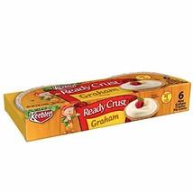 Keebler Ready Crust, Mini Pie Crusts, Graham Cracker, No-Bake, Ready to Use, 48