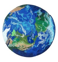 Custom and Unique Mother Earth Our Planet Embroidered Iron on/Sew Appliq... - $24.75