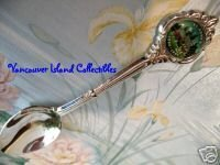 ST. ANNE's ANGLICAN CHURCH Qualicum Beach BC. Souvenir Spoon