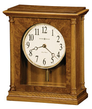 Howard Miller 635-132 (635132) Carly Mantel/Mantle/Shelf Clock - Golden Oak - $289.00