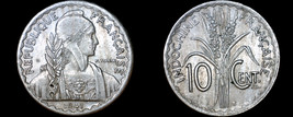 1941-S French Indo-China 10 Cent World Coin - Vietnam - $9.99