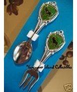 Mini CANADA MOOSE Collector Souvenir Spoon & Fork SET - $5.99