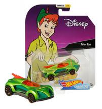 Hot Wheels Disney Peter Pan Character Cars Series 2 2/6 Mint on Card - $12.88