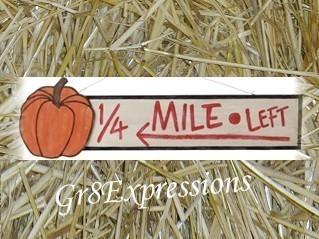 Pumpkin sign 26930