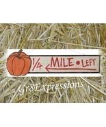 "PRiMiTiVe Wooden Fall ""PUMPKINS FOR SALE"" Sign Large - $19.95"