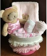 Brenna Ballerina Bear Baby Gift Basket - $59.00