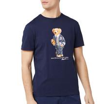 Polo Ralph Lauren Men's Bear Logo T-Shirt, Cruise Navy, Medium 3572-9 - $97.02